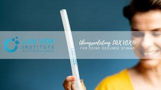 LAX VOX® Übungsanleitung mit Stephanie A. Kruse