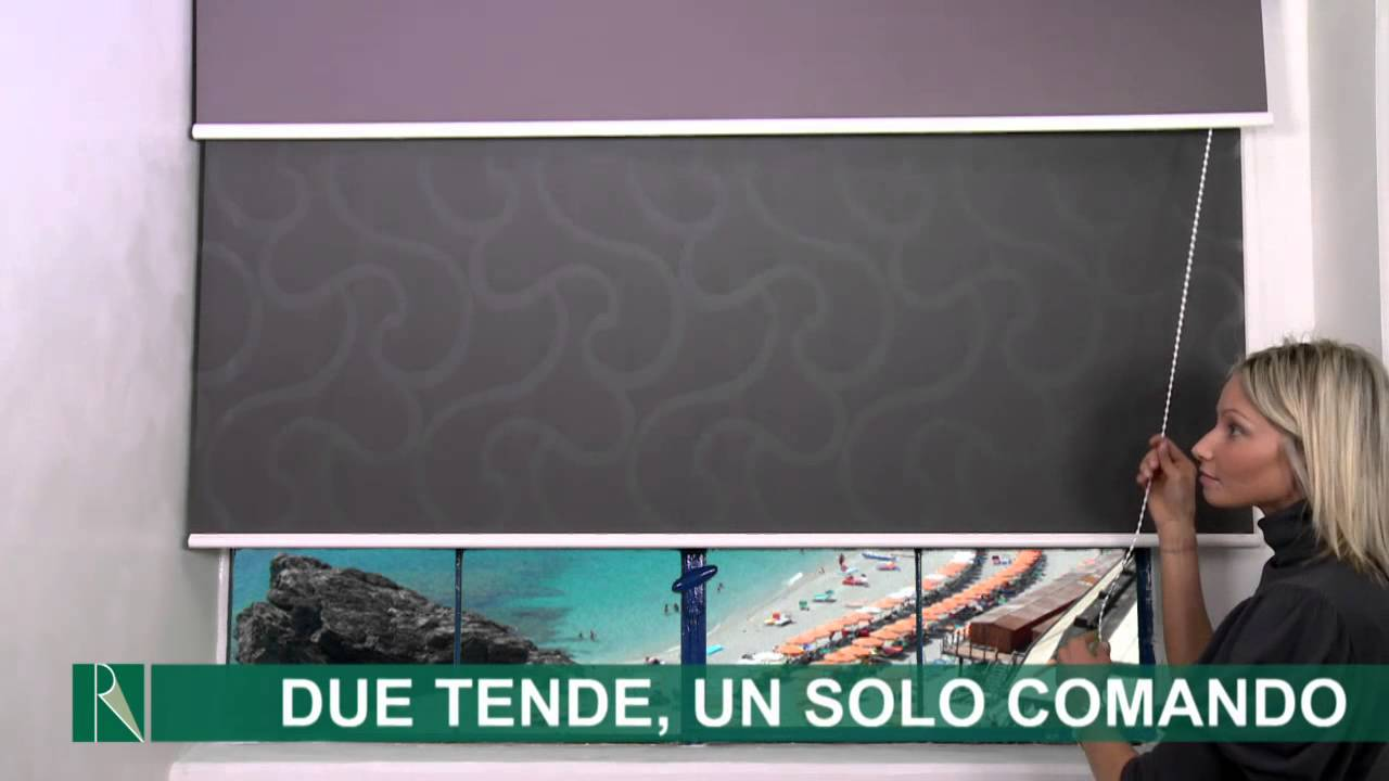 Tende a rullo decorativa presentazione youtube for Tende a rullo leroy