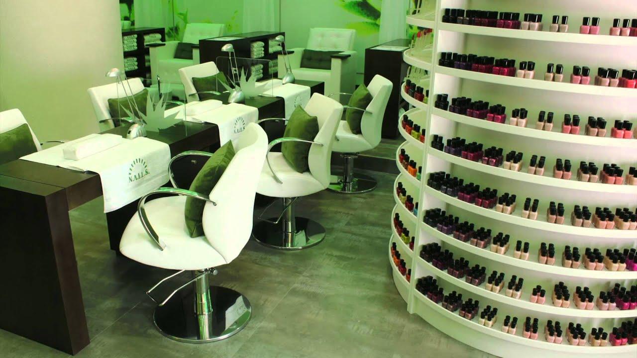Elemento Interior Design  NAILS Spa Dubai Marina  YouTube