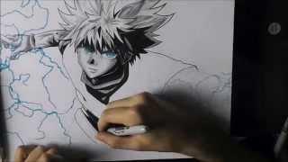 [HxH] How to draw Killua / Comment dessiner Killua
