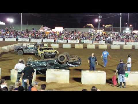 Robertson County Fair Demo Derby 2016