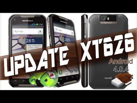 Como atualizar Iron Rock XT626 Android 4.0.4 com iDEN e 3G funcionando