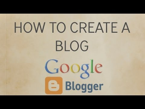 How to create a blog on Android phone - YouTube