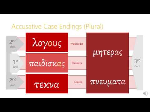 7.2 The Accusative Case