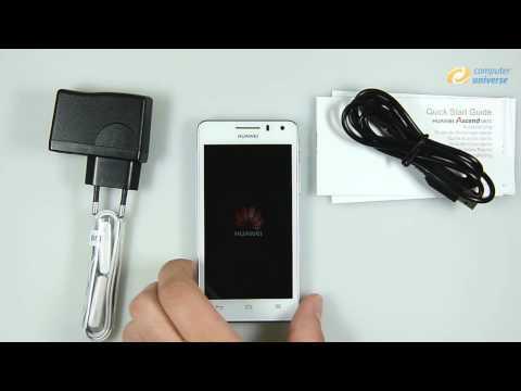 Huawei Ascend G615 ausgepackt bei computeruniverse (HD)