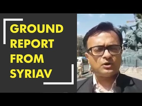 Ground report from Syria's Capital Damascus