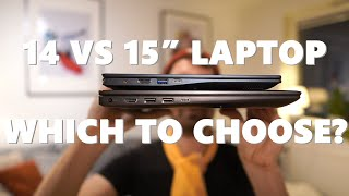 14 Inch Laptop vs 15.6 Inch Comparison - Size, Weight, Performance - Which Size Should You Choose?