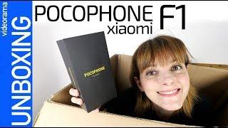 Pocophone F1 unboxing -MUCHO móvil por 329€-
