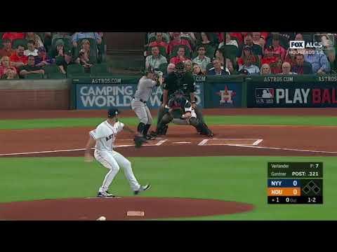 Justin Verlander Complete Game vs Yankees   Astros vs Yankees Game 2 ALCS