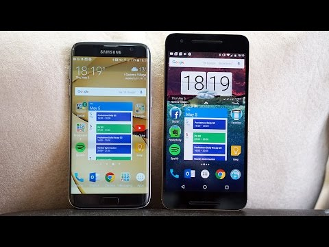 Galaxy S7 edge Vs Nexus 6P: Is Stock Android Truly Better?