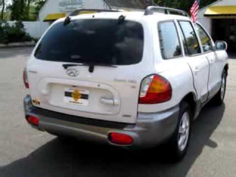 2003 hyundai santa fe gls the motor zone williamstown nj for Motor zone williamstown nj