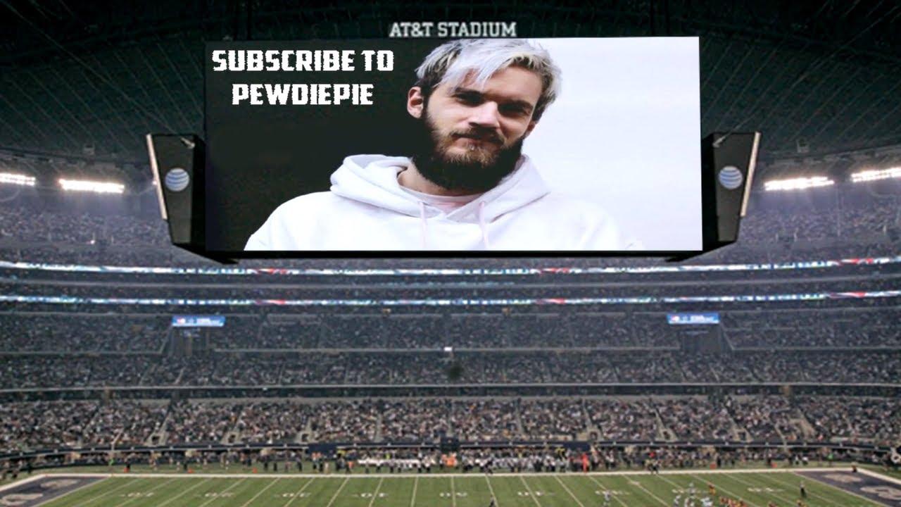 PewDiePie Vs T Series Super Bowl Commercial YouTube