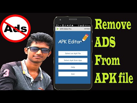 Remove Ads from any apk application andriod by apk editor