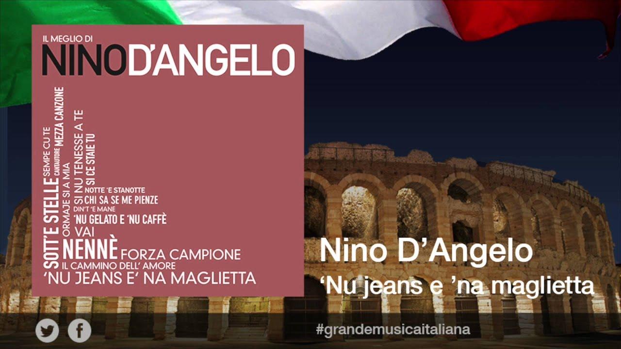 E Maglietta Della D'angelo Il Meglio Nino Jeans Musica 'na 'nu zVjqUGpSLM