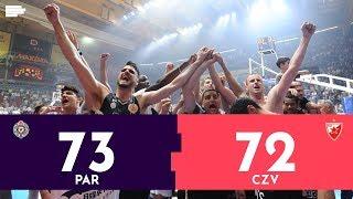 Košarkaška liga Srbije: Partizan - Crvena zvezda 73:72 | Pregled utakmice