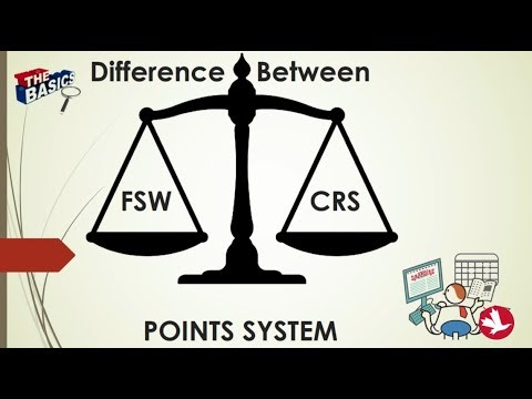 🇨🇦 🇨🇦 FSW Vs CRS Ranking System For Express Entry