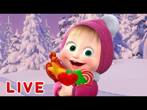 Маша и Медведь -  Мультфильмы про Зиму ⛄ Все серии подряд 🎬
