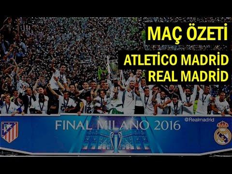 Şampiyon Ligi Final | Real Madrid 1-1 Atletico Madrid (Maç Özeti)
