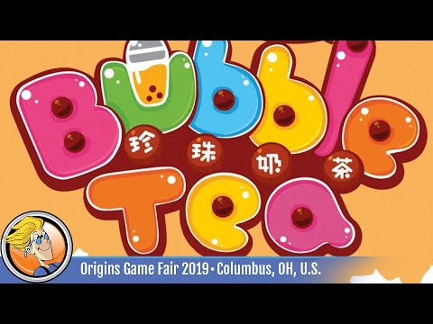 Bubble Tea - Game Overview At Origins Game Fair 2019