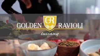 Golden Ravioli Pasta Photo Shoot - Behind The Scenes