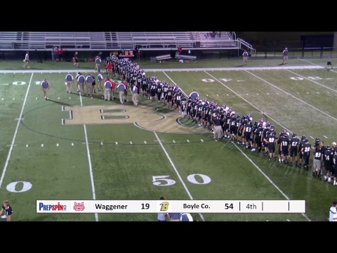 Waggener Wildcats at Boyle County Rebels - HS Football