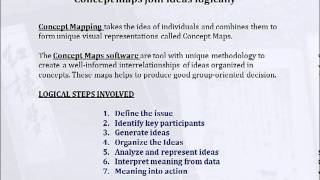 Mapas Conceptuales Ejemplos y algunas Herramientas