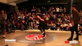 Raw Circles 2013 - Final - Lagaet & Bruce Almighty (RUS-POR) Vs Kido & Pickup (NL-ISR)
