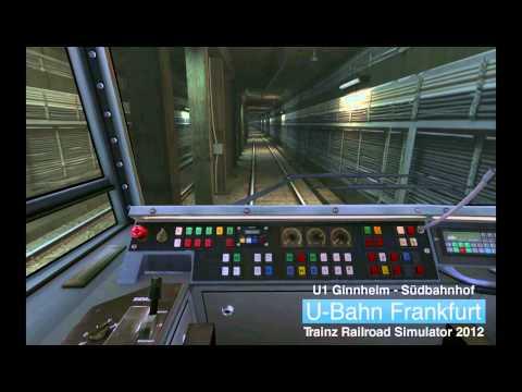 U-Bahn Frankfurt: Trainz [UF13] U1 nach Suedbahnhof