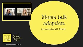 Moms Talk Adoption. {a conversation with Andrea}