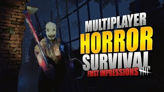 A GOOD Multiplayer Horror Game!? w/ Bizzlesnaff (Dead By Daylight: First Impressions)