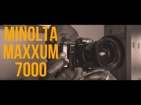 $8 Thrift Store Find: The Minolta Maxxum 7000 Film Camera