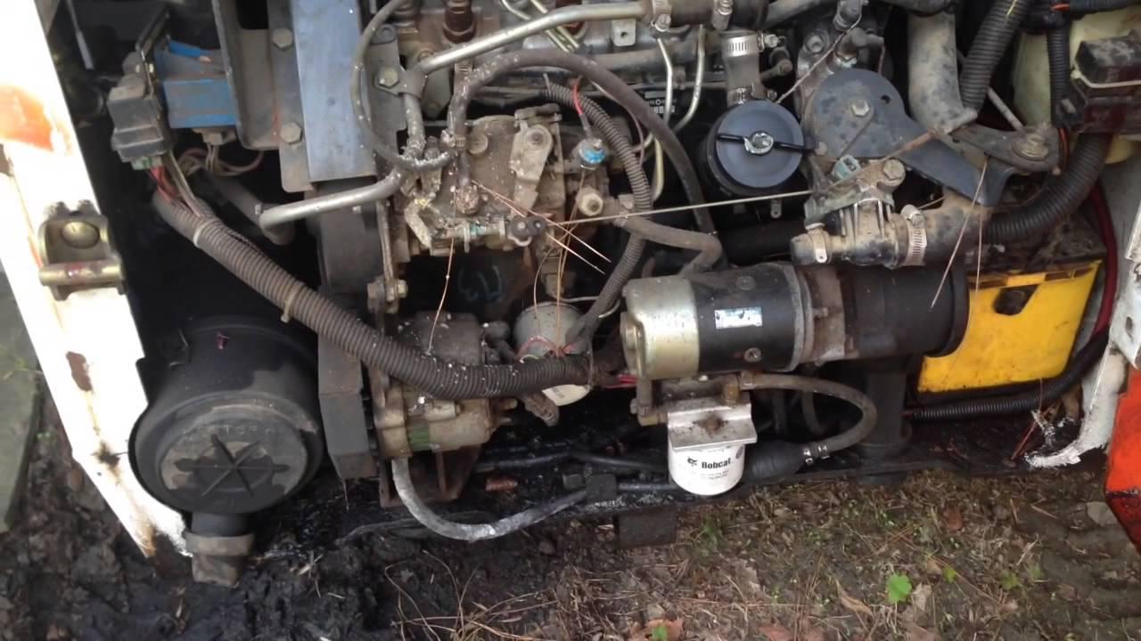 873 bobcat engine - Bobcat 751 Coldstart