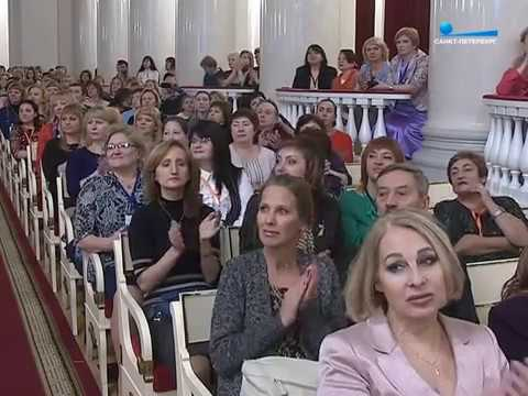 Видео награждения победителя всероссийского конкурса воспитатель года 2017 в спб
