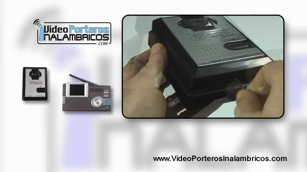 Videoportero inalambrico video portero in lambrico youtube - Video portero inalambrico ...