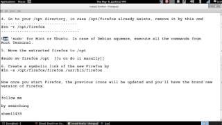 How to install firefox in linux  [debian/ubuntu/fedora]-kali  [[100 % works]],.........