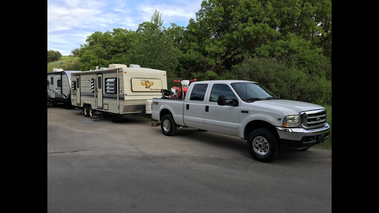 2008 ford f350 v10 towing capacity
