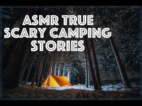 ASMR True Scary Camping Stories for Sleep (ASMR Storytelling)