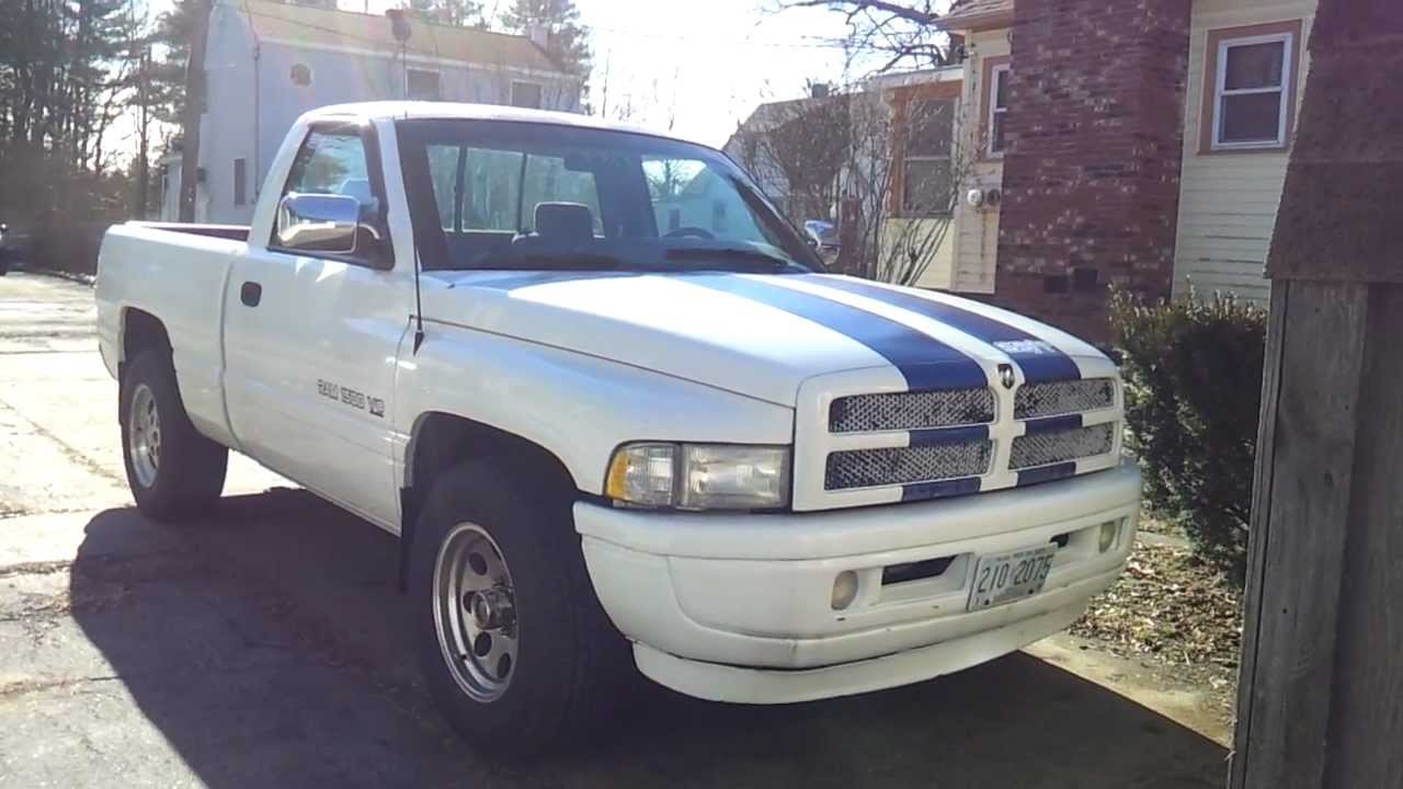 1997 Dodge Ram 1500 Ss T Cold Start Youtube