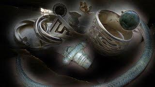 Супербраслет, кольца и сережки от водяного - пляжный поиск(Пляжный поиск. Такой толстый и с таким плетение браслет нам еще никогда не попадался. Но и кроме него были..., 2016-10-24T21:42:15.000Z)
