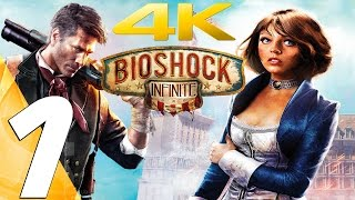BioShock Infinite - Gameplay Walkthrough Part 1 - Prologue [4K 60FPS] (PS4 Pro/Xbox One/PC)