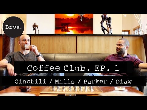 Coffee Club. Episode 1 : Manu Ginobili, Patty Mills, Tony Parker, Boris Diaw