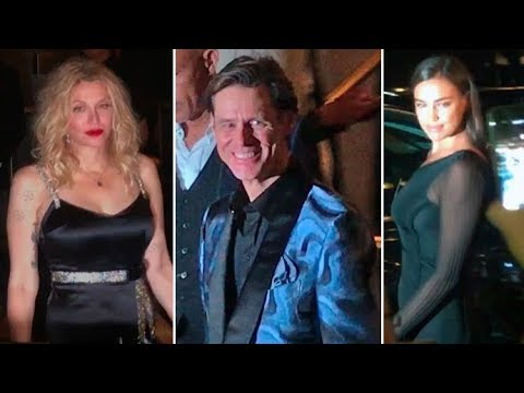 Irina Shayk, Jim Carrey, Courtney Love, Fifth Harmony And More At Harper's BAZAAR Party