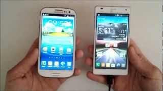 Samsung Galaxy S3 VS LG Optimus 4X HD