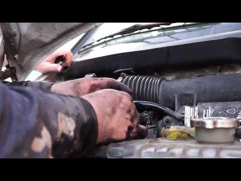 замена топливного фильтра Mercedes-Benz Vito 108 CDI