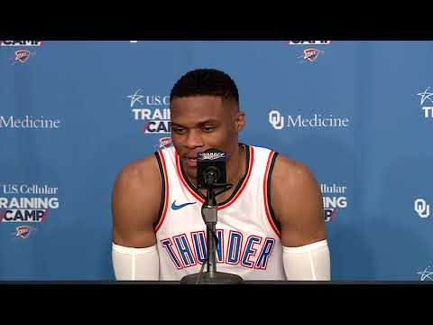 Thunder Media Day: Russell Westbrook