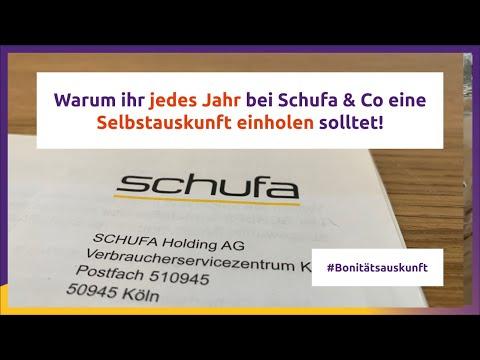 Schufa & Co: Darum jedes Jahr eine Selbstauskunft!