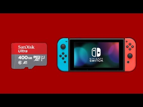 SanDisk Ultra Micro SDXC 400GB Model UHS-1/A1/Class 10 Card [Unboxing] + Gameplay on Nintendo Switch