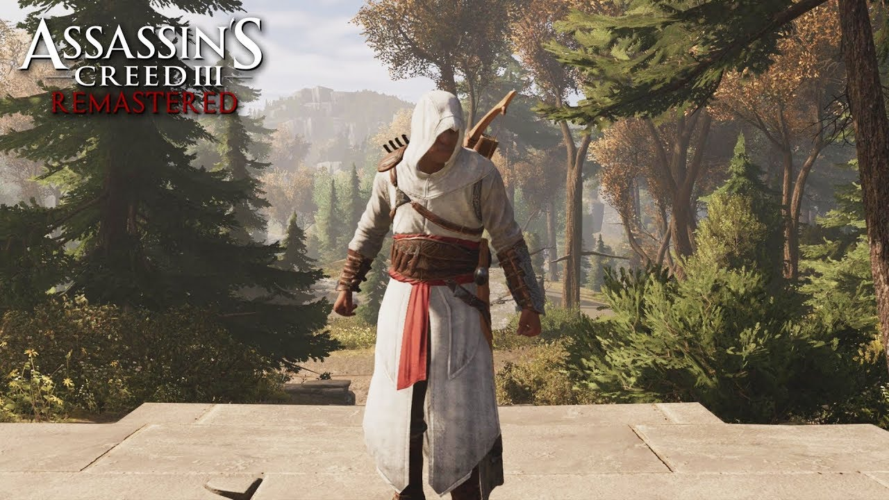 Assassin S Creed 3 Remastered Altair Outfit Gameplay No Hud