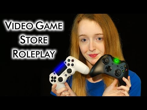 Video Game Store Role Play - Soft Spoken ASMR - 4K60