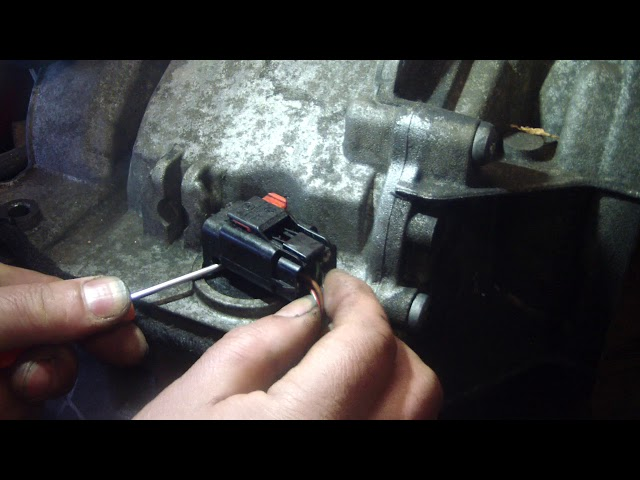 HOW TO UNPLUG MERCEDES B CLASS TRANSMISSION W245 W169